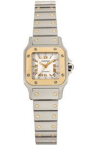 Santos Yellow Gold and Stainless Steel Automatic