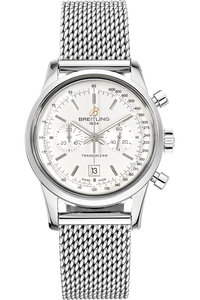 Transocean Chronograph 38 Stainless Steel Automatic