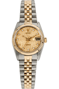 Datejust Circa 1991 Yellow Gold and Stainless Steel Automatic