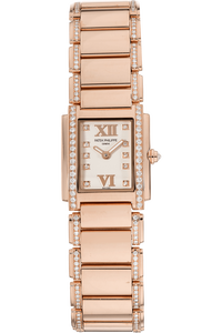 Twenty-4 Reference 4908 Rose Gold Quartz
