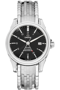 De Ville Co-Axial GMT Stainless Steel Automatic