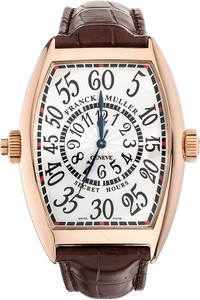 Cintree Curvex Secret Hours Rose Gold Automatic