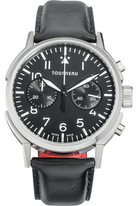 TNY 40mm Chronograph Aviator in Stainless Steel