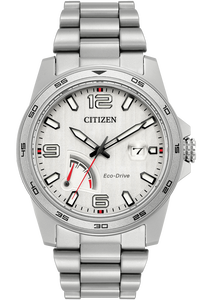 Eco-Drive  Stainless Steel Citizen PRT Power Reserve Watch