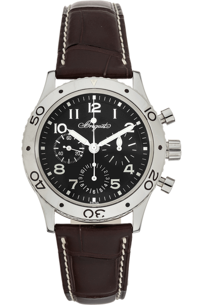 Type XX Aeronavale Chronograph Stainless Steel Automatic