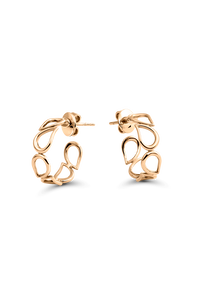 Lacrima Ear Pins in 18K Rose Gold