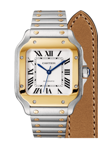 Santos de Cartier Yellow Gold & Steel, Medium