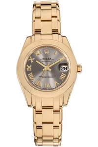Datejust Pearlmaster Yellow Gold Automatic