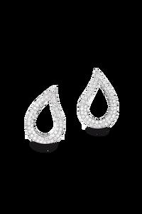 Lacrima Ear Pins in 18K White Gold