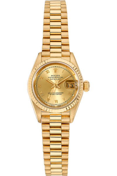Datejust Circa 1985 Yellow Gold Automatic