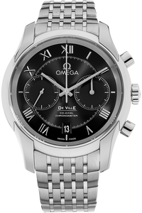De Ville Co-Axial Chronograph Stainless Steel Automatic