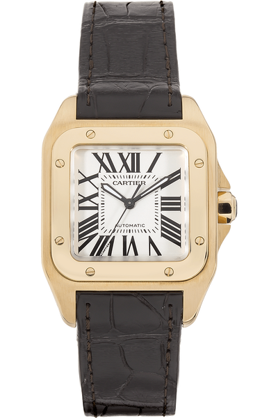 Santos 100 Yellow Gold Automatic