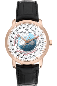 Patrimony Traditionnelle World Time Rose Gold Automatic