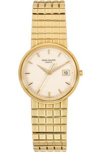 Calatrava Reference 3944 Yellow Gold Quartz