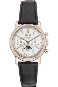 Perpetual Calendar Reference 3970 White Gold Manual