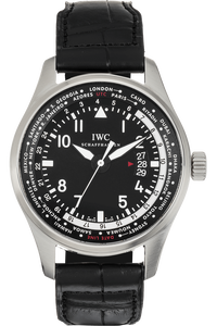 Pilot's Worldtimer Stainless Steel Automatic