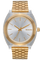 Time Teller Acetate, Light Gold / Clear