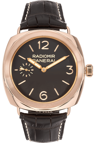 Radiomir Oro Rosso  Rose Gold Manual