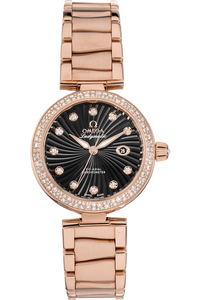 De Ville Ladymatic Co-Axial Rose Gold Automatic