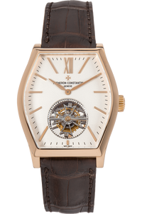 Malte Tourbillon Rose Gold Manual