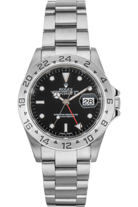 Explorer II Swiss Made Dial Lug Holes Stainless Steel Automatic