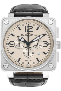 BR 01-94 Chronograph Stainless Steel Automatic