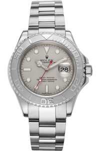 Yachtmaster Platinum and Stainless Steel Automatic