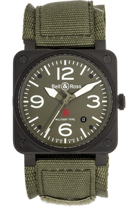 BR 03-92 Military PVD Stainless Steel Automatic