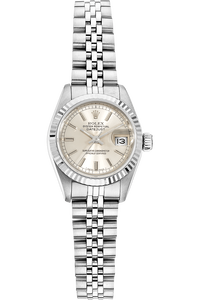 Datejust Circa 1985 White Gold and Stainless Steel Automatic