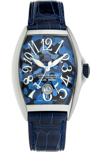 Cintree Curvex Blue Moon Stainless Steel Automatic