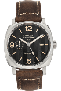 Radiomir 1940 3 Days GMT Stainless Steel Automatic