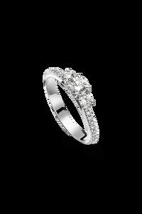 Joy Ring in 18K White Gold