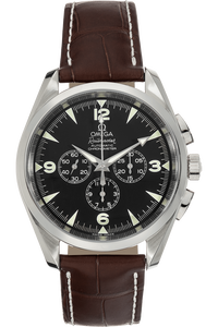 Aqua Terra Railmaster Chronograph Stainless Steel Automatic