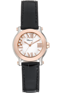 Happy Sport Rose Gold and Stainless Steel Quartz