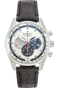 El Primer Chronograph Stainless Steel Automatic