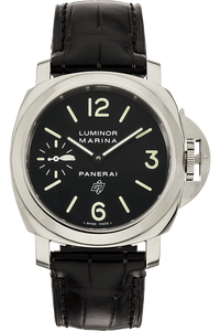 Luminor Marina Logo Stainless Steel Manual