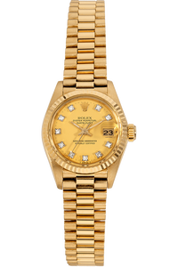Datejust Circa 1982 Yellow Gold Automatic