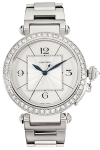 Pasha 42 White Gold Automatic