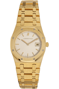 Royal Oak Yellow Gold Quartz