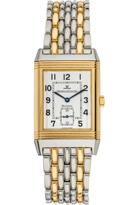 Reverso Grand Taille Yellow Gold and Stainless Steel Manual