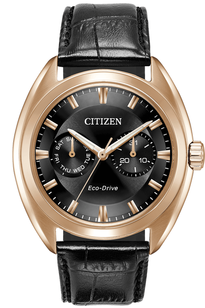 Eco-Drive  Rose Gold Tone Paradex Watch