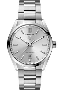 Carrera Calibre 5 Automatic Silver Steel Watch