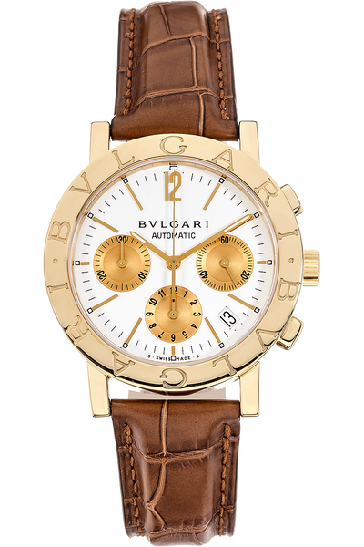 49f332a373f Images. Bvlgari-Bvlgari Chronograph Yellow Gold Automatic
