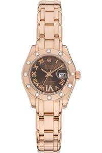 Datejust Pearlmaster Rose Gold Automatic