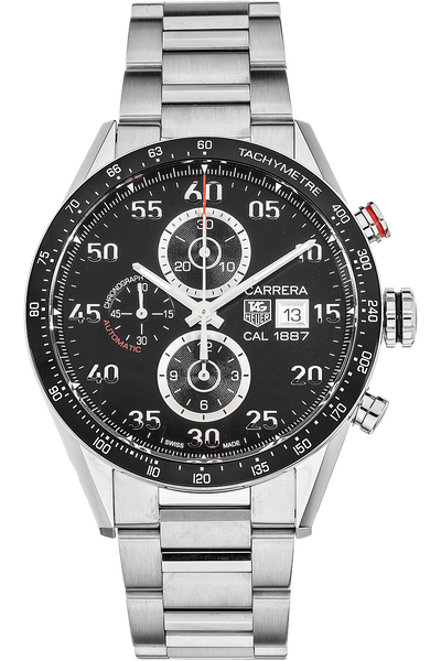 Carrera Calibre 1887 Chronograph Stainless Steel Automatic