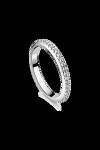 Joy Wedding Ring in 18K White Gold