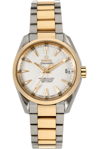 Seamaster Aqua Terra Yellow Gold and Stainless Steel Automatic
