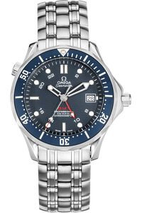 Seamaster Diver Co-Axial GMT Stainless Steel Automatic