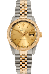 Datejust Thunderbird Yellow Gold and Stainless Steel Automatic