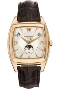 Gondolo Annual Calendar Reference 5135 Yellow Gold Automatic